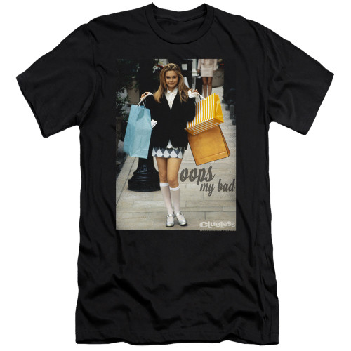 Image for Clueless Premium Canvas Premium Shirt - Oops My Bad