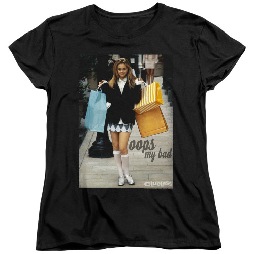 Image for Clueless Womans T-Shirt - Oops My Bad
