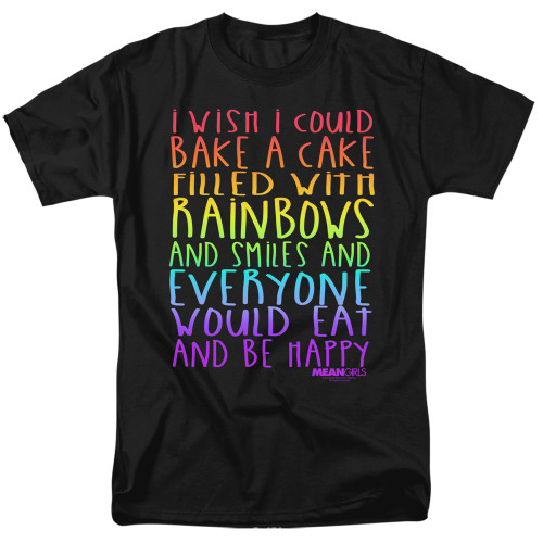 Image for Mean Girls T-Shirt - Rainbows and Cake