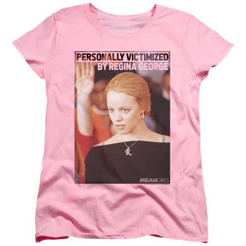 Image for Mean Girls Womans T-Shirt - Regina George Victim