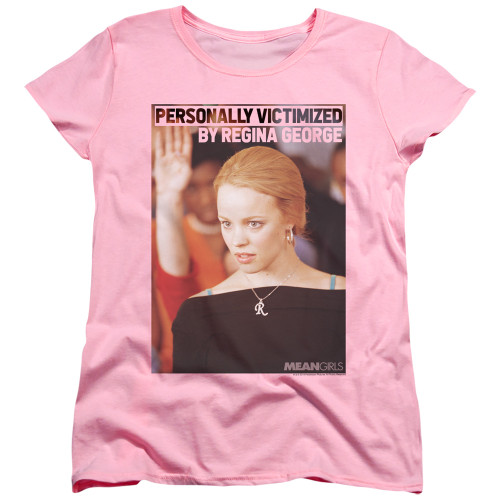 Image for Mean Girls Womans T-Shirt - Regina George Victim