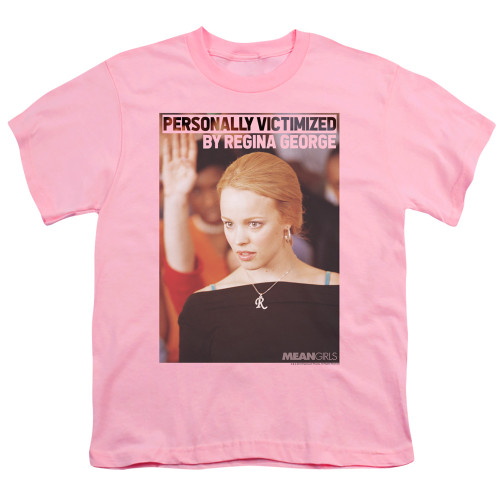 Image for Mean Girls Youth T-Shirt - Regina George Victim