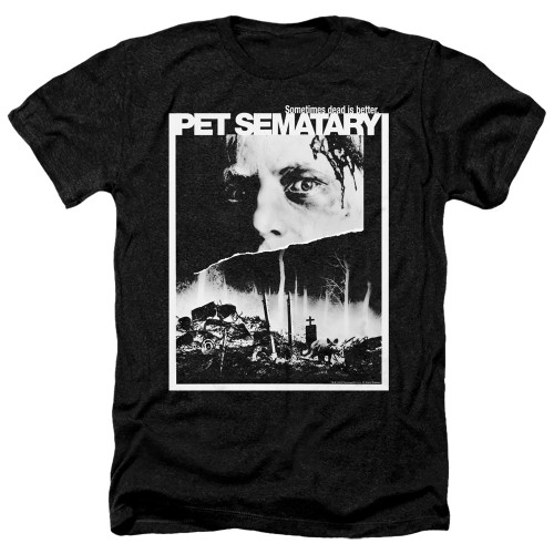 Image for Pet Sematary Heather T-Shirt - Poster Art