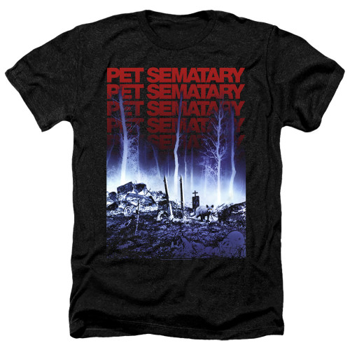 Image for Pet Sematary Heather T-Shirt - Sematary