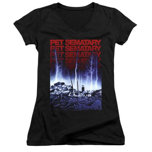 Image for Pet Sematary Girls V Neck - Sematary