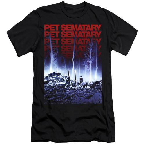 Image for Pet Sematary Premium Canvas Premium Shirt - Sematary