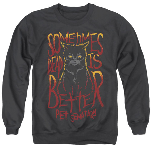 Image for Pet Sematary Crewneck - Dead is Better