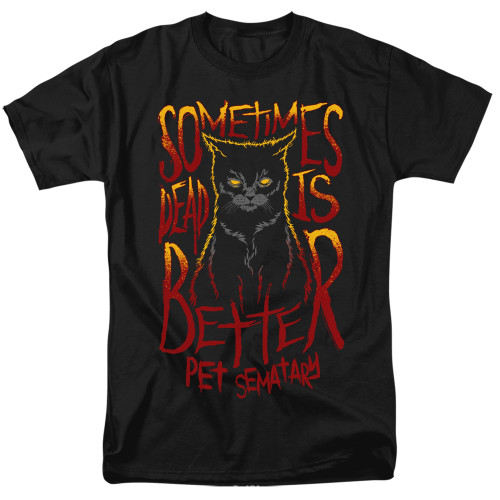 Image for Pet Sematary T-Shirt - Dead is Better