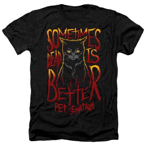 Image for Pet Sematary Heather T-Shirt - Dead is Better