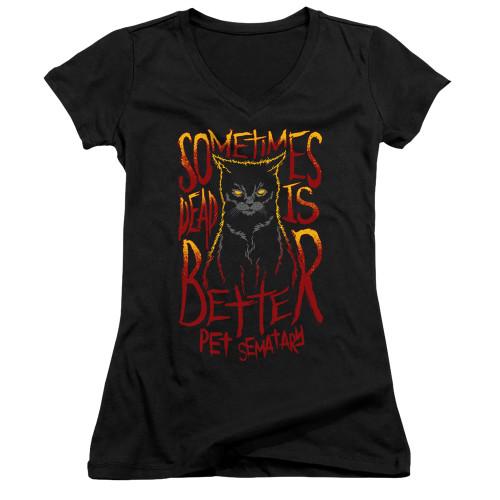 Image for Pet Sematary Girls V Neck - Dead is Better