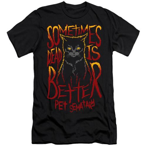 Image for Pet Sematary Premium Canvas Premium Shirt - Dead is Better
