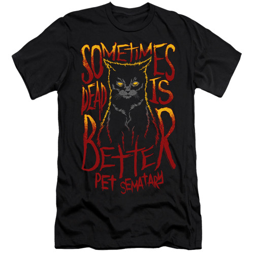 Image for Pet Sematary Premium Canvas Premium Shirt - Dead is Better
