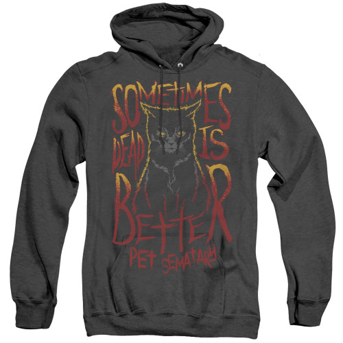 Image for Pet Sematary Heather Hoodie - Dead is Better