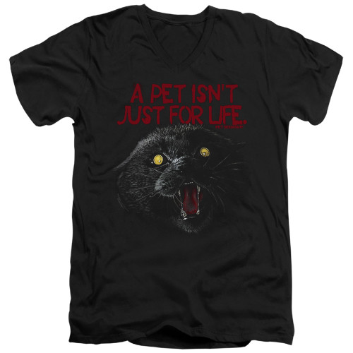 Image for Pet Sematary V Neck T-Shirt - I Survived