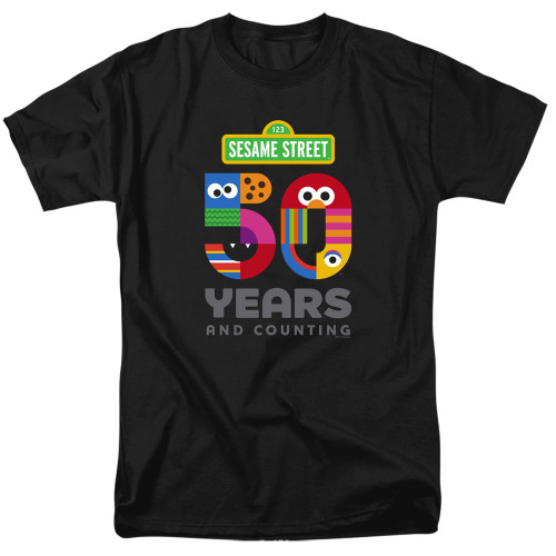 Image for Sesame Street T-Shirt - 50 Years