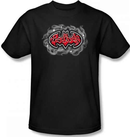 Image Closeup for Batman T-Shirt - Hip Hop Logo