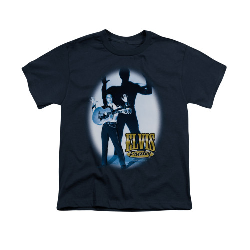 Image for Elvis Youth T-Shirt - Hands Up
