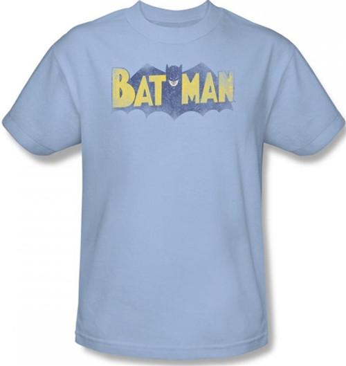 Image Closeup for Batman T-Shirt - Vintage Logo
