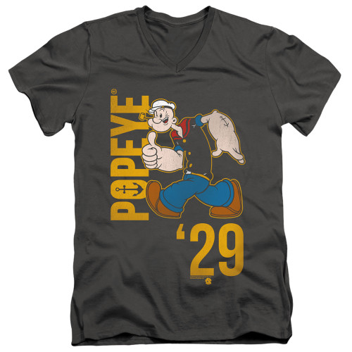 Image for Popeye the Sailor T-Shirt - V Neck - '29