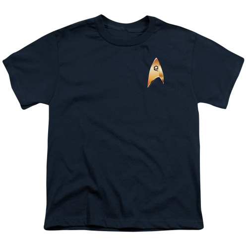 Image for Star Trek Discovery Youth T-Shirt - Operations Badge