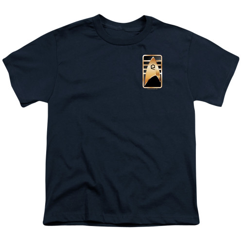 Image for Star Trek Discovery Youth T-Shirt - Cadet Badge