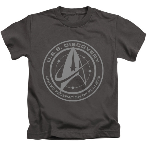 Image for Star Trek Discovery Kids T-Shirt - Discovery Crest