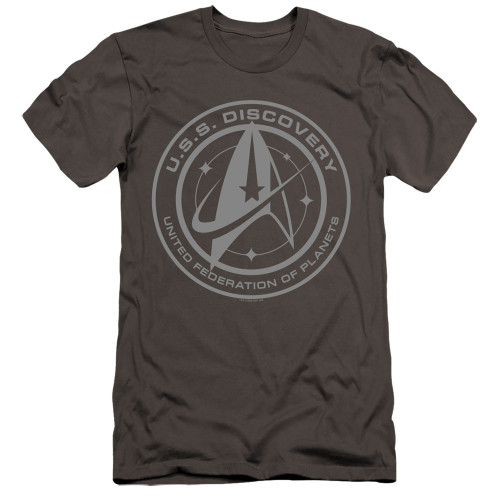Image for Star Trek Discovery Premium Canvas Premium Shirt - Discovery Crest