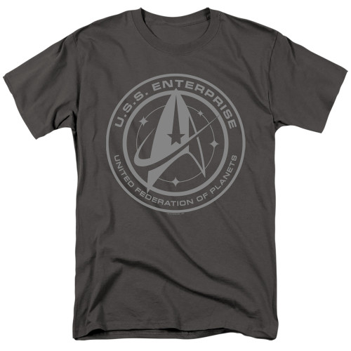 Image for Star Trek Discovery T-Shirt - Enterprise Crest