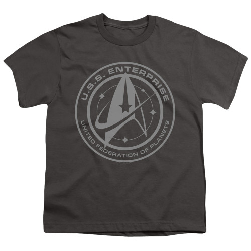 Image for Star Trek Discovery Youth T-Shirt - Enterprise Crest