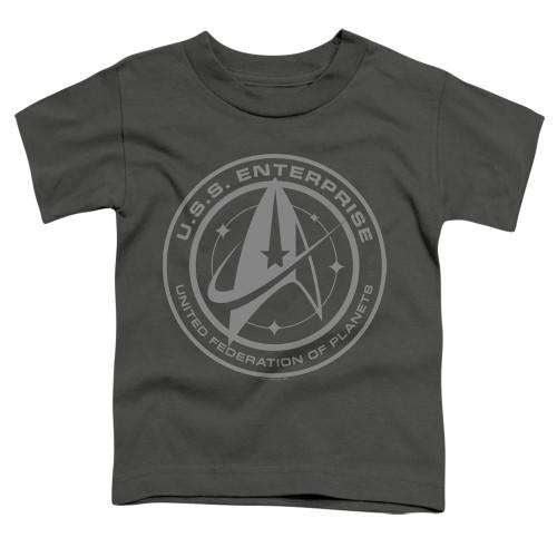 Image for Star Trek Discovery Toddler T-Shirt - Enterprise Crest