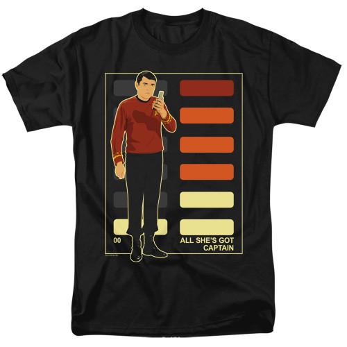 Image for Star Trek T-Shirt - All She's Got Captain