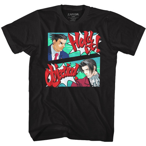 Image for Ace Attorney Hold the Objection T-Shirt