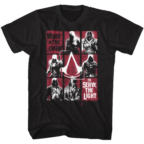 Image for Assassins Creed Work in the Dark T-Shirt