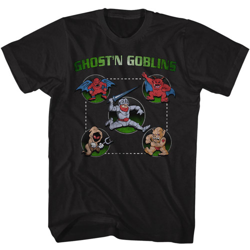 Image for Ghost 'n Goblins Full Circle T-Shirt