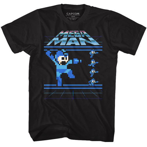 Image for Mega Man Megamen T-Shirt