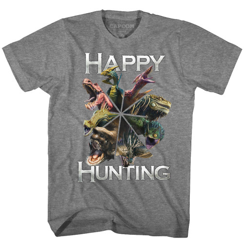Image for Monster Hunter Happy Hunting T-Shirt