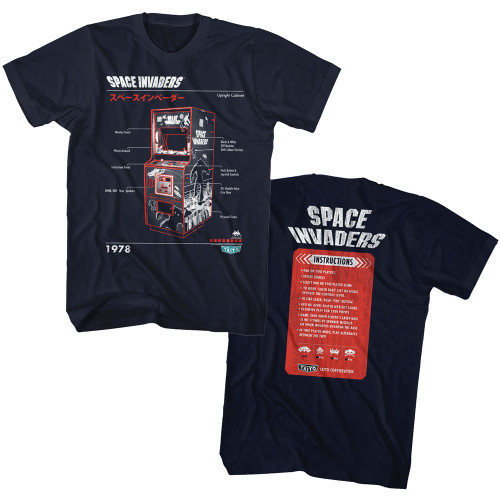 Image for Space Invaders Cab T-Shirt