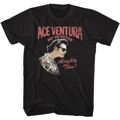 Image for Ace Ventura Pet Detective T-Shirt - Ace Profile