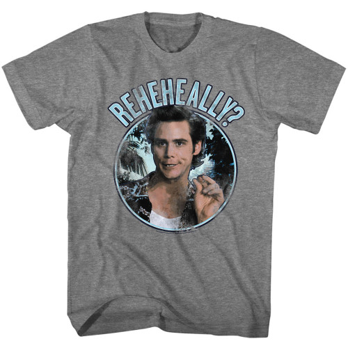 Image for Ace Ventura Pet Detective T-Shirt - Reheheally Circle