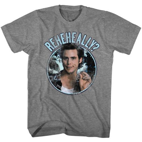 Image for Ace Ventura Pet Detective T-Shirt - Reheheally Circle
