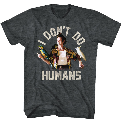 Image for Ace Ventura Pet Detective T-Shirt - I Don't Do Humans