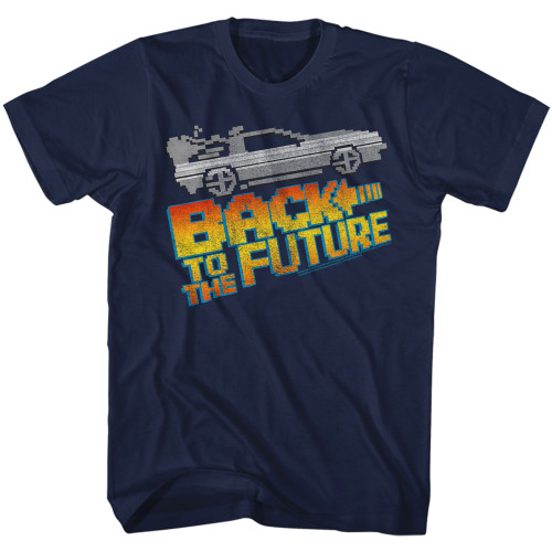 Image for Back to the Future T-Shirt - 8 Bit to the Future