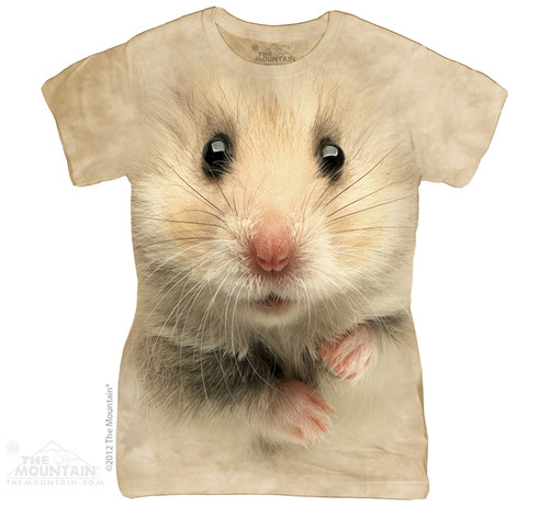 Image for The Mountain Girls T-Shirt - Hamster Face
