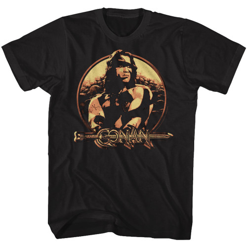 Image for Conan the Barbarian T-Shirt - Shield