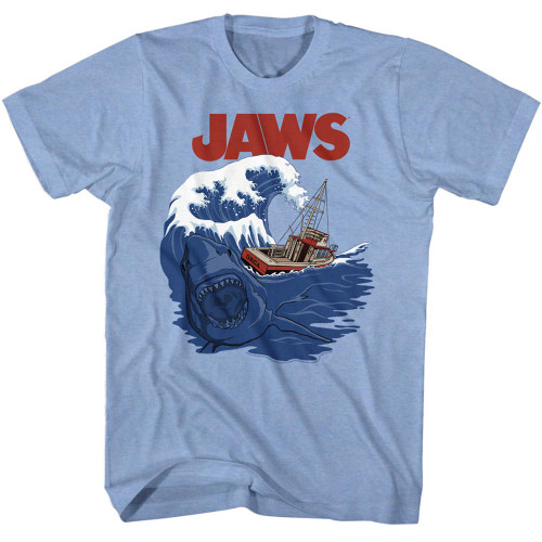 Image for Jaws T-Shirt - Shark Swell
