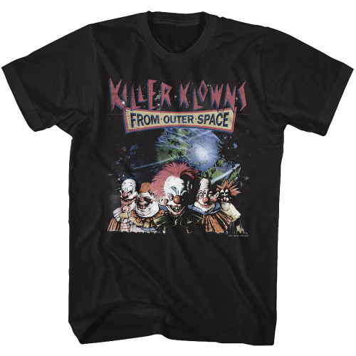 Image for Killer Klowns from Outer Space T-Shirt - Klowns in Space