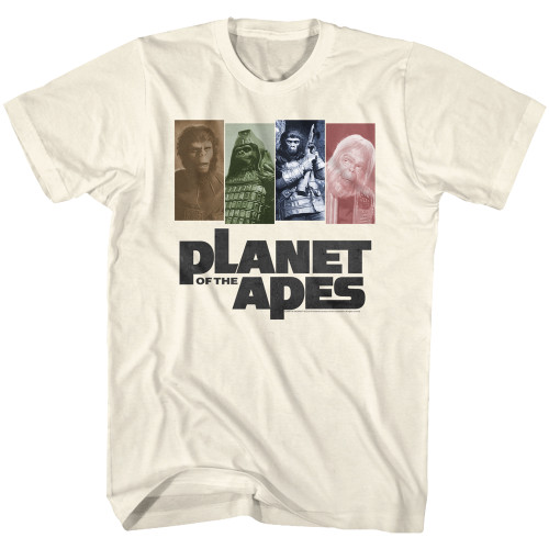 Image for Planet of the Apes T-Shirt - Apes '68