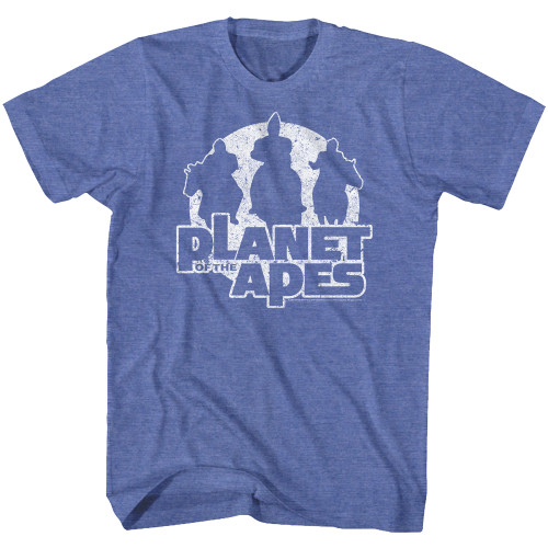 Image for Planet of the Apes T-Shirt - Apes on Horses