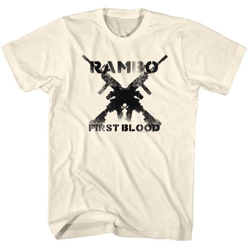 Image for Rambo T-Shirt - Guns