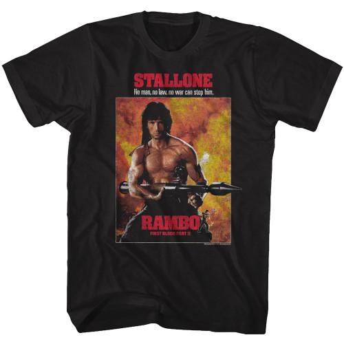 Image for Rambo T-Shirt - Part II